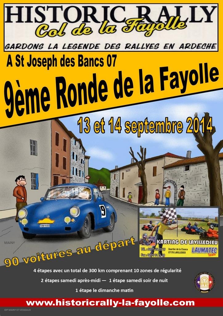 9ème Ronde de la Fayolle 2014