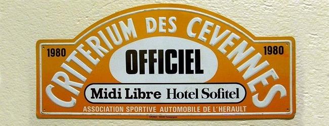 XXIVème Critérium des Cévennes 1980 22 & 23 Novembre 1980 Pierre MENY – Jean-François LIENERE Renault Alpine A310 V6 Groupe IV #11 Abandon : Rotule de suspension Ar. Es 6 Classement : 1° ANDRUET-EMANUELLI / FIAT 131 ABARTH GR4 2° RAGNOTTI-ANDRIE / R5 TURBO GR 3° TOUREN-GALZIN / PORSCHE 911 SC GR4