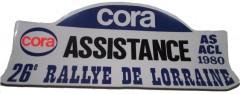 XXVIème Rallye de Lorraine 1980 16, 17 & 18 Mai 1980 Pierre MENY – Jean-François LIENERE Renault Alpine A310 V6 Groupe IV #71 Deux dernières ES sur 3 cylindres !! Classement : 1° RAGNOTTI-ANDRIE / R5 ALPINE GR2 2° LOUBET-ALEMANY /PORSCHE 911 SC GR4 3°CLARR-FAUCHILLE / OPEL ASCONA GR2 5°MENY-LIENERE / A310 V6 GR4