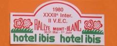 XXXIIème Rallye du Mont Blanc 1980 30, 31 Mai & 1er Juin 1980 Pierre MENY – Jean-François LIENERE Renault Alpine A310 V6 Groupe IV #11 Abandon: Tirant de chasse avant droit cassé ES3 Bisanne Classements : 1° RAGNOTTI-ANDRIE /R5 ALPINE GR2 2° MOUTON -CONCONI / FIAT 131 ABARTH GR4 3° LOUBET-ALEMANY /PORSCHE 911SC GR4