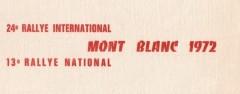 XXIVème Rallye international du Mont Blanc 1972 XIIIème Rallye national 13 & 14 mai 1972 LIMOUSIN – Pierre Mény Alpine A110 » sans grand succès… « 1°RENAUDAT-LENNE /SIMCA CG 2°ALIBELLI-MOINE /A110 1600S 3°MERCO-MERCOTTE / RENAULT R1135  Bibliographie : Collection Pierre Mény, photos Adolphe CONRATH Magazine Echappement n°45 de juillet 1972, pages 118 à 120. Magazine Echappement n°82 de août 1982 : rétro juillet 1972.