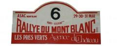 XXXIIIème Rallye du Mont Blanc 1981 Fiche technique : 33ème édition, les 30 & 31 Mai 1981 Résultats : Pierre Mény – Jean-François Liénéré n°6 Alpine A310 V6 Groupe IV usine Abandon : surchauffe moteur ES1. 1°SABY-SAPPEY / R5 TURBO Gr4 2°CLARR-SEVELINGE / OPEL ASCONA 400 GR4 3°CARON-RATAZZI / PORSCHE 911SC GR4
