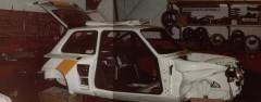 RECONSTRUCTION NOUVELLE R5 TURBO 1982 AVRIL A SEPTEMBRE 1982 Pierre MENY – Jean-François LIENERE Renault 5 Turbo CévennesGroupe 4