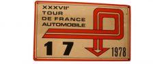 XXXVIIème Tour de France Automobile 1978 Fiche technique : 37ème édition, 16 – 24 septembre 1978. Résultats : Pierre MÉNY – Jean François LIÉNÉRÉ Alpine A310 V6 Groupe 4 n°17 Abandon : BV après ES 8 / 12° du classement général provisoire du prologue le samedi 16 septembre 1° MOUTON-CONCONI/ FIAT 131 ABARTH GR4 2°CLARR-TILBER / OPEL KADETT GTE GR1 3°SCLATER-HOLMES / VAUXHALL CHEVETTE GR4 Bibliographie :