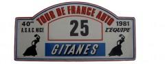 XXXXème Tour de France Automobile 1981 Fiche technique : 40ème édition, 16 – 21 septembre 1981. Résultats : Pierre Mény – Jean-François Liénéré #23 Renault 5 Turbo Groupe 4 Abandon : surchauffe moteur, casse moteur ES8 / Joint de chemise. 1°ANDRUET-BOUCHETAL / FERRARI 308 GTB GR4 2°DARNICHE-MAHE / LANCIA STRATOS GR4 3°BEGUIN-BUCHET / PORSCHE 911 SC 3L GR4
