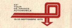 XXème Tour de France Automobile 1975 Fiche technique : 20ème édition du lundi 15 au mardi 23 septembre 1975 (AUTOMNE). Organisée par l'ASA Tour de France 100, avenue Charles de Gaulle – 92522 Neuilly. Tél. : 747.97.09. Ouvert aux groupes 1 à 5, comptant avec coefficient 13 pour le Championnat de France des Rallyes. Compte aussi pour le challenge internationnal «Tour Auto – Giro d'Italia», le Trophée de l'Avenir et le challenge Esso. Parcours long de 4224 kilomètres, découpé en 6 étapes : Nice – Nice : prologue de 260 km Nice – Nîmes : 319 km Nîmes – Bourg […]